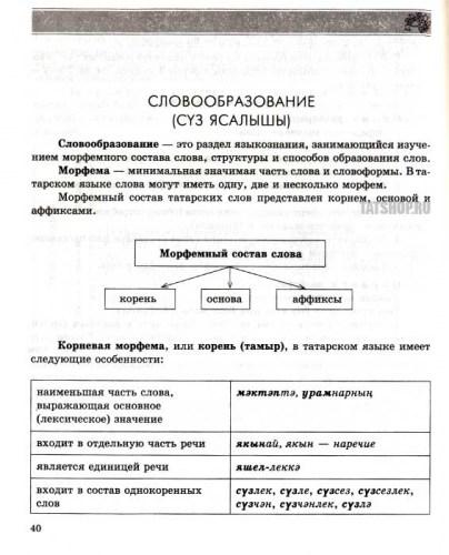Татарский язык. Справочник Image 1
