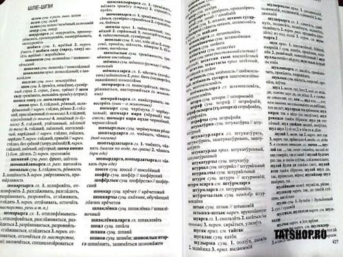 Татарско-русский словарь на 25000 слов. Татарча-русча сүзлек (500 стр) Image 3