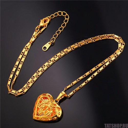 Кулон «Сердце мусульманина» покрытый золотом Image 1